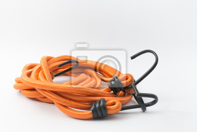 orange Farbe elastischen Seil mit Haken