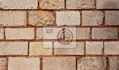Einfach Steinwand Farbe ~ Orangen creme farbe alte steinwand fototapete u fototapeten grenze