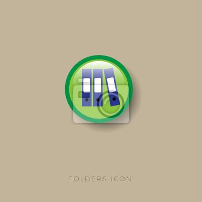 Ordner Symbol Ordner Buro Dokumente Lagerung Buchhaltung