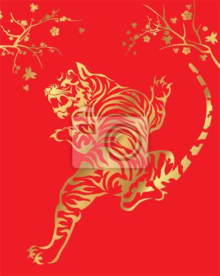 Orientalischer Goldtiger