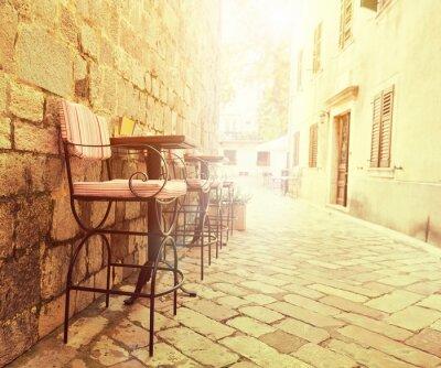 Fototapete Outdoor-Café