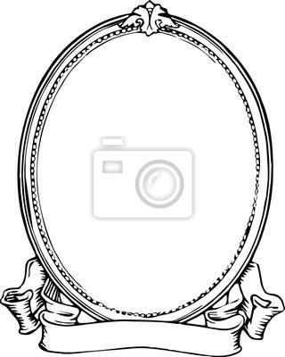 Ovaler Rahmen_clip art_vintage