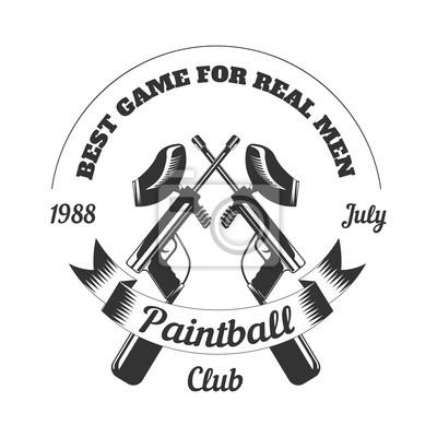 Paintball club sport spiel farbe ball gewehr pistole maske ziel ...