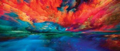 Fototapete Painted Dreamland