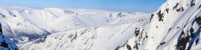 Fototapete Panorama der nördlichen Berge