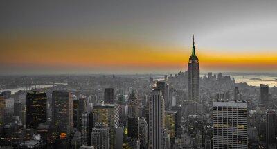 Fototapete Panorama von Manhattan, New York
