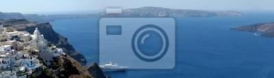 Panorama von Santorini, Griechenland
