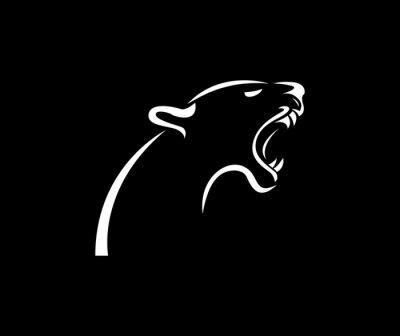 Fototapete Panther-Logo
