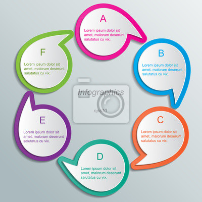 Papier Infografiken