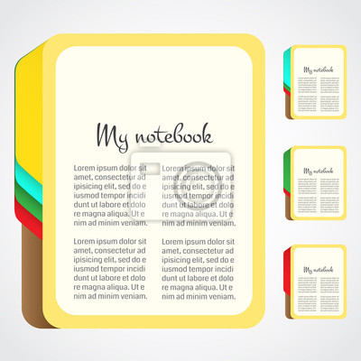 Papier-Notebook