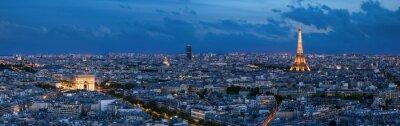 Fototapete Paris à l'heure bleue