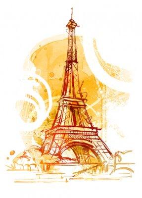 Fototapete Paris Summer