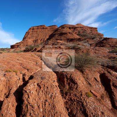 Fototapete Parque Nacional Sierra de las Quijadas entfernt