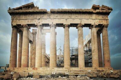 Fototapete Parthenon, Akropolis in Athen