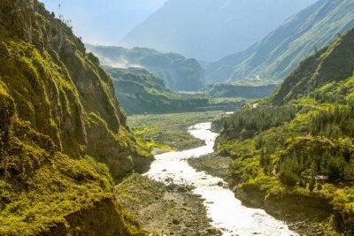 Fototapete Pastaza Fluss In Ecuador
