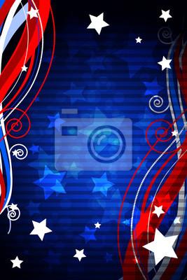 Patriotischen Hintergrund