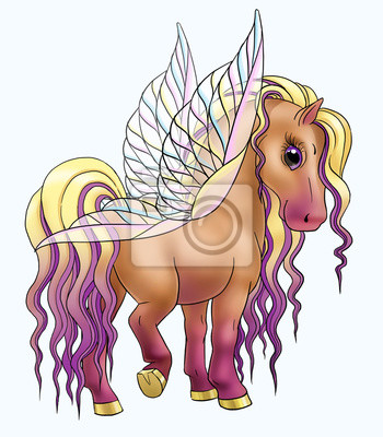 Pegasus-Zeichentrickfilm