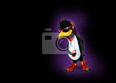 Penguin mit Musik