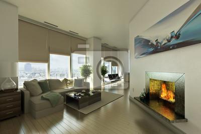 Fototapete Penthouse Wohnung