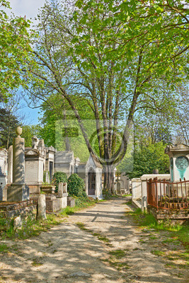 Fototapete Pere Lachaise Friedhof, Paris, Frankreich