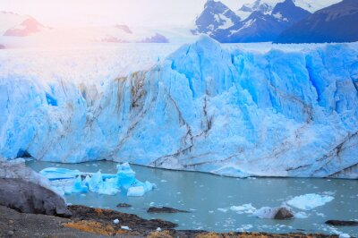 Fototapete Perito Moreno Gletscher.