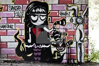 Person Graffiti