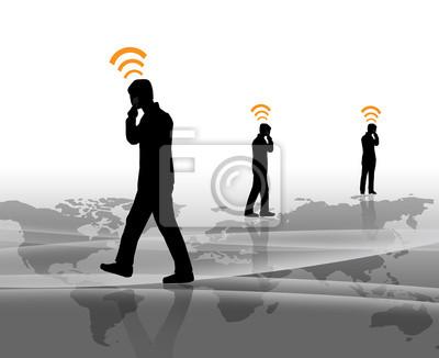 Personen per Telefon kommunizieren