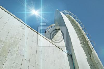Perspektive Ansicht Von Unten Treppe Aus Beton Und Bewehrung