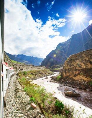 Fototapete Peru Bahn von Cuzco nach Machu Picchu Peru