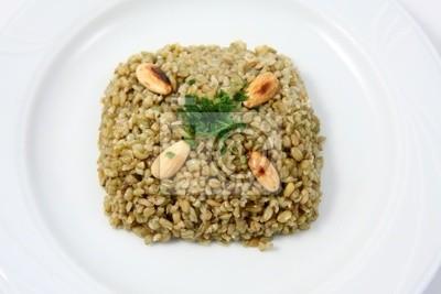 Piatto tipico della cucina araba fototapete • fototapeten syrian ...