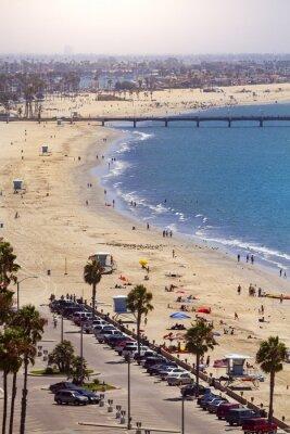 Fototapete Pier in Long Beach, Los Angeles, Kalifornien