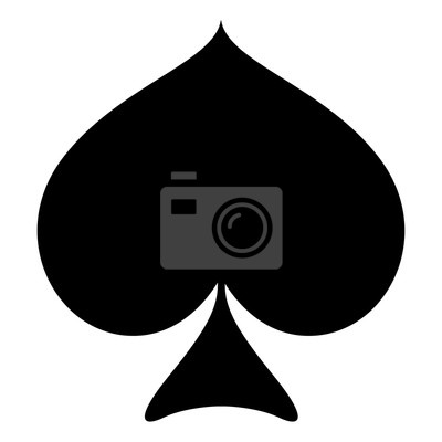 pik karte Pik karte anzug fototapete • fototapeten Spaten, Poker