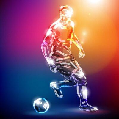 Fototapete piłka nożna wektor