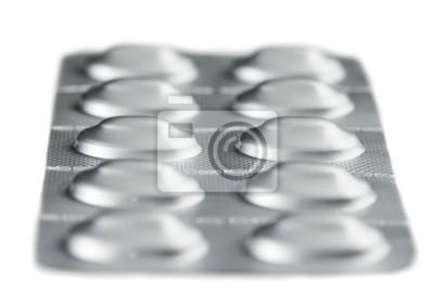 Pillen in einer Blisterverpackung