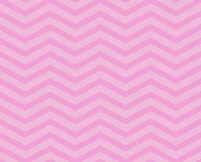 Fototapete Pink Chevron Zigzag Textured Fabric Pattern Background