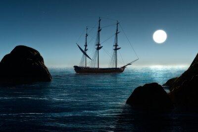 Fototapete Piratenschiff