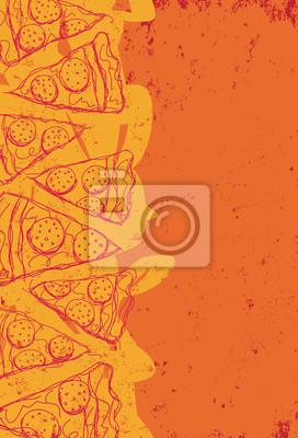 Pizza-Scheiben
