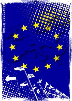Plakat der Europäischen Union