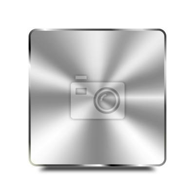 Platte Aus Edelstahl Hochglanz Fototapete Fototapeten Medaille