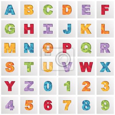 Platz Alphabet Symbole