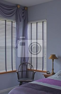 Fototapete: Plum lila lavendel schlafzimmer design interieur