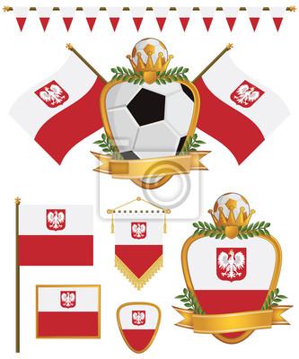 Polen-Flaggen