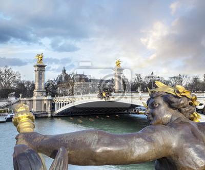 Fototapete Pont Alexandre III in Paris