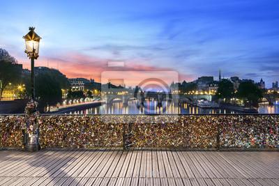 Fototapete Pont des Arts Paris
