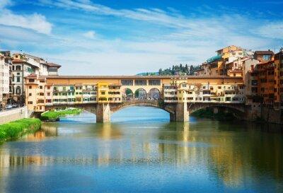 Fototapete Ponte Vecchio, Florenz, Italien