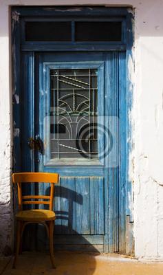 Porte ancienne de crète