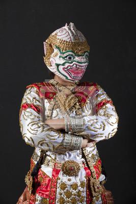 Portrait hanuman Krieger
