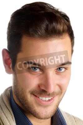 Haare augen junge blaue braune Braune Haare