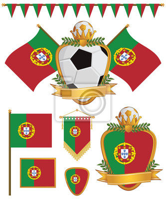 Portugal-Flaggen