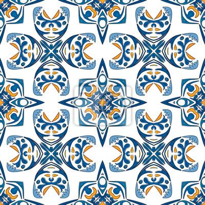 Portugiesische Fliesen Fototapete Fototapeten Tile Tunesisch - Portugiesische fliesen bilder